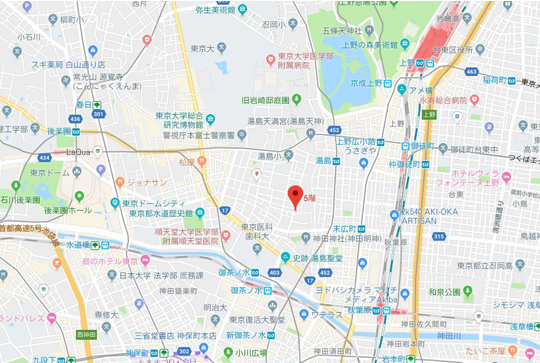 東京オフィスアクセス